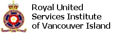 Royal United Services Institute of Vancouver Island Logo